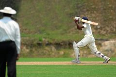 A batsman Stock Photos