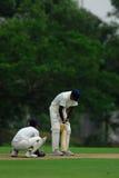 A batsman Stock Photography