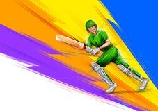 Free Batsman Playing Cricket Championship Sports Royalty Free Stock Photography - 113354877
