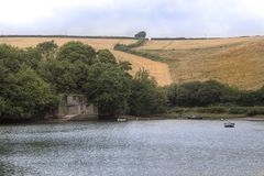 Batson Creek, Devon England stock photos