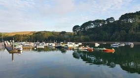Batson Creek . Salcombe. Devon. Uk royalty free stock image
