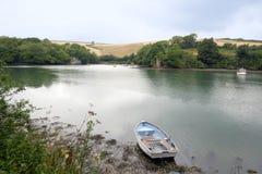 Batson zatoczka, Devon Anglia fotografia royalty free