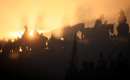 Battaglia a Austerlitz 2009 immagine stock libera da diritti