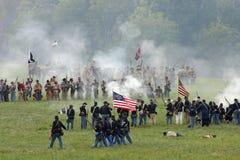 Battaglia della collina GA del traforo Fotografie Stock