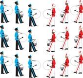 Battaglia delle fasce Fotografia Stock Libera da Diritti