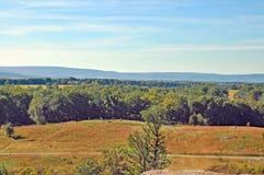Battaglia di Gettysburg: Secondo giorno Fotografia Stock Libera da Diritti