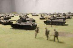 Battaglia di Tnak di Prokhorovka Fotografia Stock