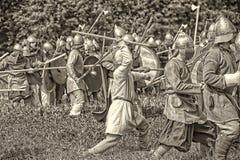 Battaglia di Viking Fotografie Stock