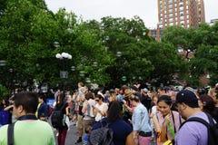 Battaglia NYC 2016 2 della bolla fotografia stock libera da diritti