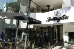Battaglia Store. For men only the Battaglia Store along rodeo Drive in Beverly Hills, LA, CA. specializes for men outfit Stock Photos