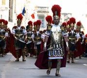 Battaglione romano Immagine Stock