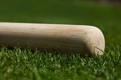 Batte de baseball photographie stock libre de droits
