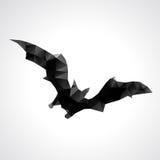 Batte géométrique abstraite de Halloween - illustration de vecteur Photographie stock