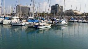 Battello da diporto Barca a vela Immagini Stock Libere da Diritti