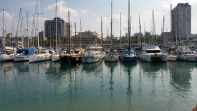 Battello da diporto Barca a vela Fotografia Stock Libera da Diritti