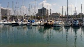 Battello da diporto Barca a vela Fotografia Stock