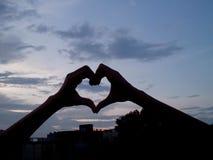 Battement de coeur Photo libre de droits