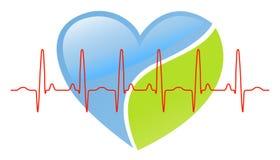 Battement de coeur illustration stock