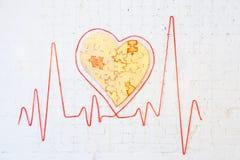 Battement de coeur Photographie stock