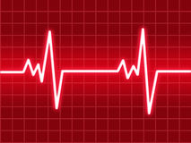 Battement de coeur illustration libre de droits