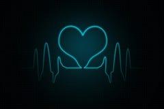 Battements de coeur Image libre de droits