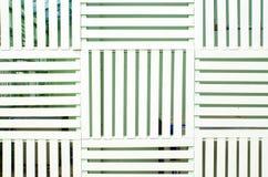 Batten du bois blanc pour le fond Photo stock