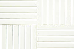 Batten of white wood. For background royalty free stock image