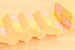 Battenberg cake Royalty Free Stock Image