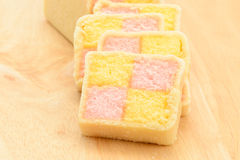 Battenberg cake Royalty Free Stock Photos