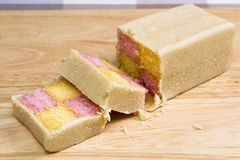 Battenberg cake Royalty Free Stock Photography