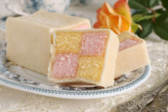 Battenberg Cake Royalty Free Stock Image