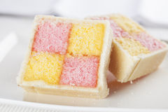 Battenberg Cakes Royalty Free Stock Image