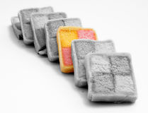 Battenburg cake Stock Photography