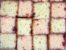 Battenburg cake Stock Photos
