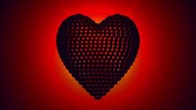 Battendo cuore girante - 4K ultra HD illustrazione vettoriale