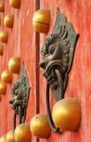 Battenti di portello cinesi Immagine Stock