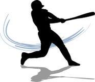 batter бейсбола иллюстрация вектора