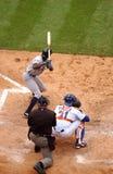 batter бейсбола предпосылки Стоковые Фотографии RF