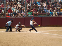 Batter from Central Oklahoma Stock Photos