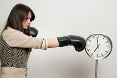 Battere l'orologio Immagini Stock Libere da Diritti