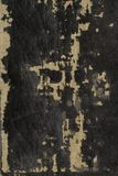 Battered bible cover. The neglected binding of an old Welsh bible close up. Ideal design background stock photography