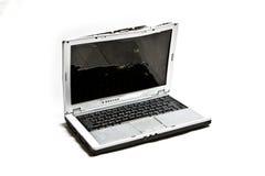Battered Laptop Stock Image
