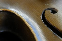 Battered Violin Stock Image