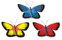 Batterfly a colori Fotografia Stock Libera da Diritti