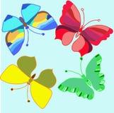 Batterfly_pattern Royalty-vrije Stock Fotografie