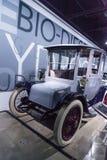Batteri - driven Brougham 1915 för Detroit elektrisk modell 61 Royaltyfria Foton