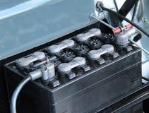 Batteri för bilmotor Arkivfoton