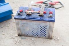 Batteri - realitet och negation Royaltyfri Bild