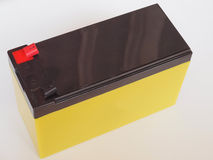 batteri 12V Arkivfoto