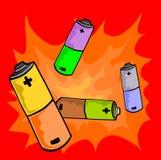 Batteria Immagini Stock